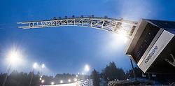 19.12.2012, Planai, Schladming, AUT, FIS Weltmeisterschaften Ski Alpin, Schladming 2013, Vorberichte, im Bild das neue Wahrzeichen von Schladming, der Voestalpine Skygate // the new symbol of Schladming, the Voestalpine Skygate, preview to the FIS Alpine World Ski Championships 2013 at Schladming, Austria on 2012/12/19. EXPA Pictures © 2012, PhotoCredit: EXPA/ Juergen Feichter