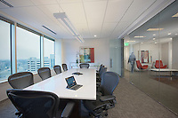 Architectural interior of Business Suites Offices in Towson Maryland by Jeffrey Sauers  of Commercial Photographics