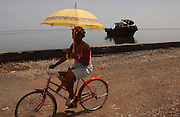 Santa Cruz del Sur, On Cuba's south eastern coast.<br />
