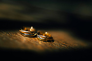 Detail of two wedding rings, Ko Samui, Thailand, Southeast Asia