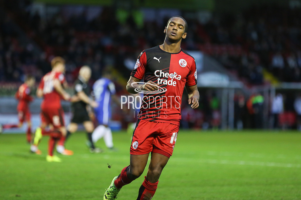Lewis Young of Crawley Town during the Sky Bet League 2 match between Crawley Town and Stevenage at the Checkatrade.com Stadium, Crawley, England on 26 December 2015. Photo by Phil Duncan.