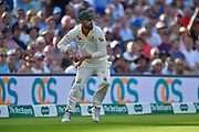 Nathan Lyon of Australia fielding during the 5th International Test Match 2019 match between England and Australia at the Oval, London, United Kingdom on 14 September 2019.