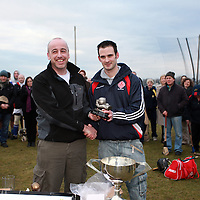 Action from the Ennis Adult Hurling League at the weekend.<br /> Photograph by Yvonne Vaughan