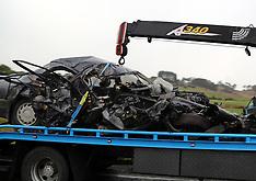 Auckland-Serious crash, Kahikatea Flat Road