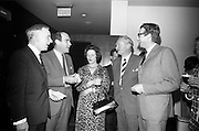 01/05/1966<br /> 05/01/1966<br /> 01 May 1966<br /> Powers Irish Coffee Reception at the Intercontinental hotel, Dublin.