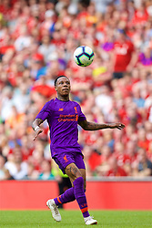 DUBLIN, REPUBLIC OF IRELAND - Saturday, August 4, 2018: Liverpool's Nathaniel Clyne during the preseason friendly match between SSC Napoli and Liverpool FC at Landsdowne Road. (Pic by David Rawcliffe/Propaganda)