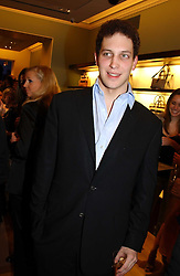 LORD FREDERICK WINDSOR at a party to celebrate the 2nd anniversary of Quintessentially magazine held at Asprey, Bond Street, London on 24th February 2005.<br /><br />NON EXCLUSIVE - WORLD RIGHTS