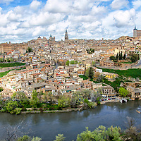 Vista de Toledo. View of Toledo. Castilla-La Mancha. Spain.
