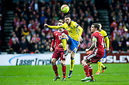 17.11.2015. Copenhagen, Denmark. <br /> Marcus Berg of Sweden in action during their UEFA EURO 2016 play-off second leg match at the Telia Parken Stadium. <br /> Photo: © Ricardo Ramirez.