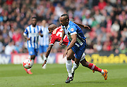 Chris O'Grady during the Sky Bet Championship match between Middlesbrough and Brighton and Hove Albion at the Riverside Stadium, Middlesbrough, England on 2 May 2015.
