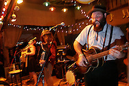 Reverend Peyton's Big Damn Band on stage at Pickathon, the annual roots music festival near Portland, Oregon.