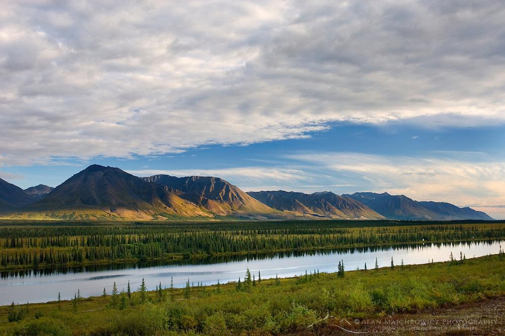 Long Lake at Broad Pass Alaska