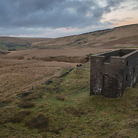 An air shaft serving the Standedge Tunnel on Marsden Moor, Saddleworth on Monday 29th January 2018.