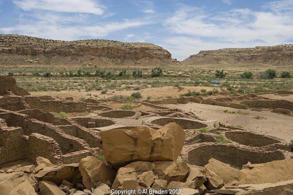 Pueblo Bonito, Chaco Canyon NHS, New Mexico