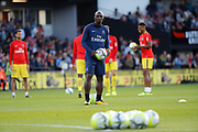 Zoumana Camara (PSG) during the French championship L1 football match between EA Guingamp v Paris Saint-Germain, on August 13, 2017 at the Roudourou stadium in Guingamp, France - Photo Stephane Allaman / ProSportsImages / DPPI
