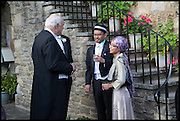 JONATHAN CHAMBERLAIN; AFIFI AL-AKILI; ELMA RAMLY, The Tercentenary Ball, Worcester College. Oxford. 27 June 2014