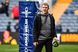 Worcester Warriors Backs Coach Sam Vesty during the pre match warm up - Mandatory by-line: Craig Thomas/JMP - 27/01/2018 - RUGBY - Sixways Stadium - Worcester, England - Worcester Warriors v Exeter Chiefs - Anglo Welsh Cup