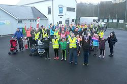 Enjoying the Operation Transformation walk hosted by Westport GAA club on saturday last.<br /> Pic Conor McKeown