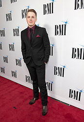 Nov. 13, 2018 - Nashville, Tennessee; USA - TRAVIS DENNING attends the 66th Annual BMI Country Awards at BMI Building located in Nashville.   Copyright 2018 Jason Moore. (Credit Image: © Jason Moore/ZUMA Wire)