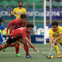DEN HAAG - Rabobank Hockey World Cup<br /> 34 India - Korea<br /> Foto: <br /> COPYRIGHT FRANK UIJLENBROEK FFU PRESS AGENCY
