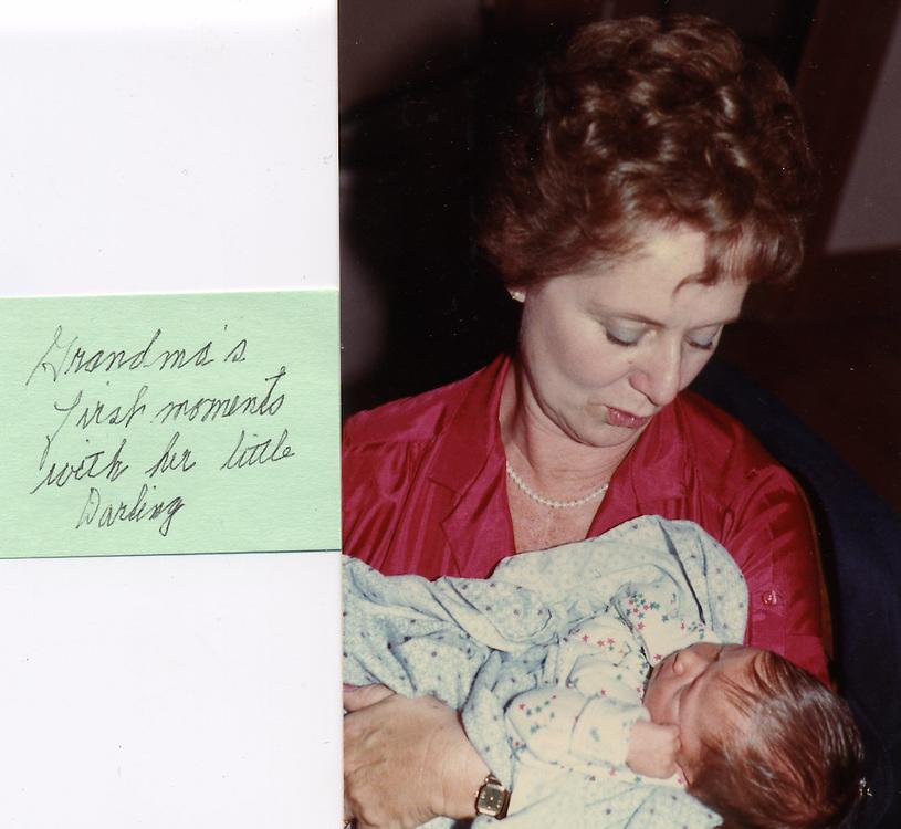 Grandma and baby Caroline
