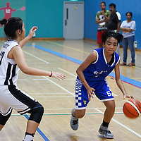 Clementi Sports Hall, Wednesday, April 5, 2017 — Unity Secondary School beat Yishun Town Secondary 44-37 in the second round group stage of the National B Division Girls Basketball Championship. The result also squashed Yishun Town's hopes of qualifying for the semi-finals. https://www.redsports.sg/2017/04/06/national-b-div-girls-bball-unity-yishun-town/