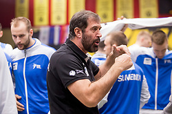 Veselin Vujovic, head coach of Slovenia during Handball friendly match before EURO 2018 between Slovenia and Serbia, on January 10, 2018 in Rdeca dvorana, Velenje, Slovenia. Photo by Urban Urbanc / Sportida