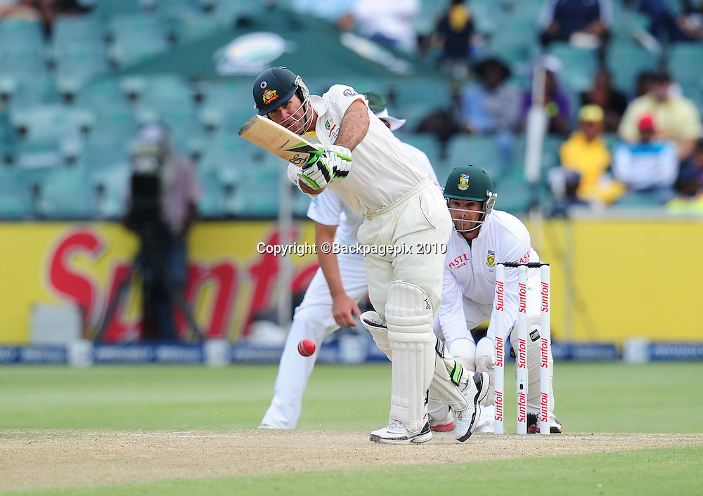 Ricky Ponting of Australia, Cricket - 2011 Sunfoil Test Series - South Africa v Australia - Day 4 - Wanderers Stadium, Johannesburg. 20 November 2011<br /> &copy;Chris Ricco/Backpagepix