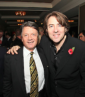 Fran Nevrkla and Jonathan Ross