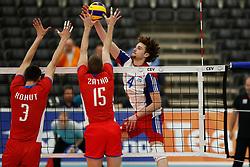 20170524 NED: 2018 FIVB Volleyball World Championship qualification, Koog aan de Zaan<br />Kamil Rychlicki (4) of Luxembourg<br />©2017-FotoHoogendoorn.nl / Pim Waslander