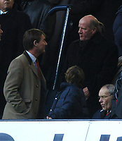 Photo: Javier Garcia/Back Page Images<br />Tottenham Hotspur v Southampton, FA Barclays Premiership, White Hart Lane 18/12/04<br />Jim Smith meets Rupert Lowe before the game