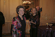 dowager Duchess of Bedford and Mrs. Arnaud Bamberger, Cartier Racing Awards , Four Seasons Hotel, Hamilton Place, London, W1, 15 November 2006. ONE TIME USE ONLY - DO NOT ARCHIVE  © Copyright Photograph by Dafydd Jones 66 Stockwell Park Rd. London SW9 0DA Tel 020 7733 0108 www.dafjones.com