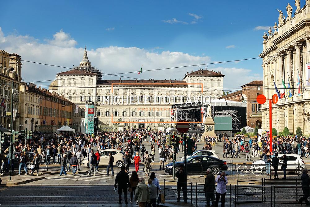 Palazzo Reale, piazza Castello, Torino.