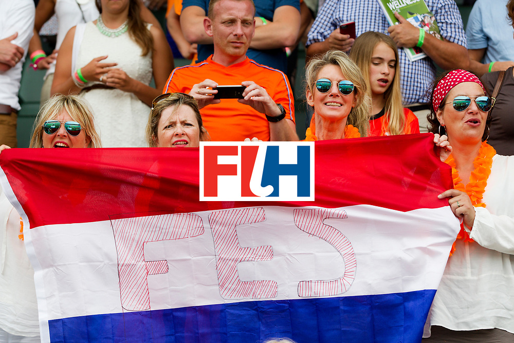 THE HAGUE - Rabobank Hockey World Cup 2014 - 2014-06-09 - WOMEN - The Netherlands - Korea 3-0 -  SUPPORTERS<br /> Copyright: Willem Vernes