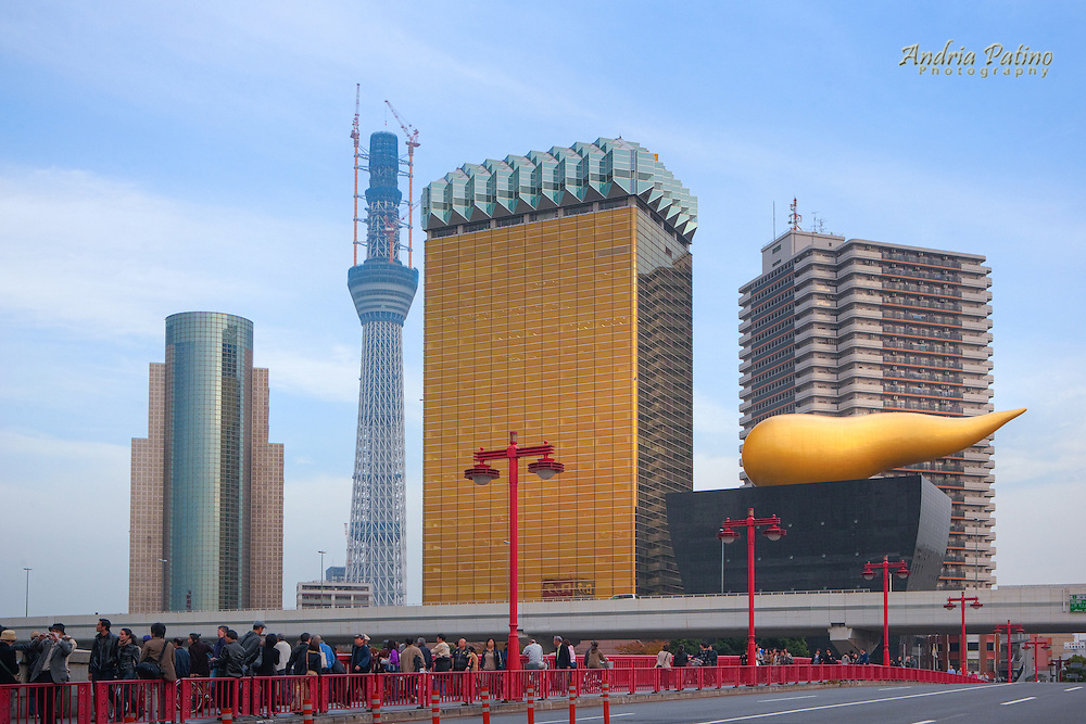 Tokyo Sky Tree, tallest artificial structure in Japan under construction