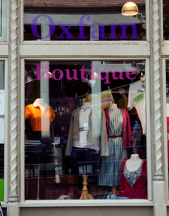 Oxfam Boutique, Nottingham