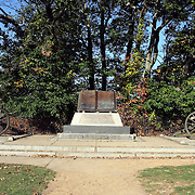 Monument honoring the repulse of Longstreet's assault (Pickett's Charge), Gettysburg Battlefield