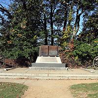 Monument honoring the repulse of Longstreet's assault (Pickett's Charge), Gettysburg Battlefield