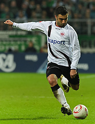 13.11.2010, Weserstadion, Bremen, GER, 1. FBL, Werder Bremen vs Eintracht Frankfurt, im Bild Georgios Tzavellas (Frankfurt #31)   EXPA Pictures © 2010, PhotoCredit: EXPA/ nph/  Frisch+++++ ATTENTION - OUT OF GER +++++