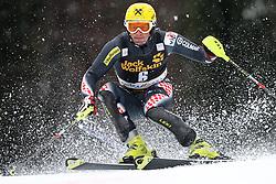 KOSTELIC Ivica  of Croatia during the 1st Run of Men's Slalom - Pokal Vitranc 2013 of FIS Alpine Ski World Cup 2012/2013, on March 10, 2013 in Vitranc, Kranjska Gora, Slovenia.  (Photo By Vid Ponikvar / Sportida.com)