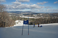 Alpine skiing at Ragged Mountain in Danbury, NH.  Karen Bobotas for the Laconia Daily Sun
