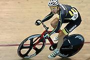 Australia's Trent Derecourt (Track Cycling WA ) in the men omnium 30km points race at the UCI Tier 1 Festival of Speed, SIT Zero Fees Velodrome, Invercargill, New Zealand, Saturday, November 16, 2013. Credit:NINZ/Dianne Manson