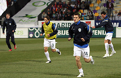 Zlatko Dedic of Slovenia warming up before the 8th day qualification game of 2010 FIFA WORLD CUP SOUTH AFRICA in Group 3 between Slovenia and Czech Republic at Stadion Ljudski vrt, on March 28, 2008, in Maribor, Slovenia. Slovenia vs Czech Republic 0 : 0. (Photo by Vid Ponikvar / Sportida)