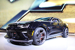 11 February 2016: Chevrolet Camaro SS.<br />