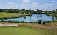 TILBURG -  hole Blaak 7.   PRISE D'EAU GOLF, golfbaan.  COPYRIGHT KOEN SUYK