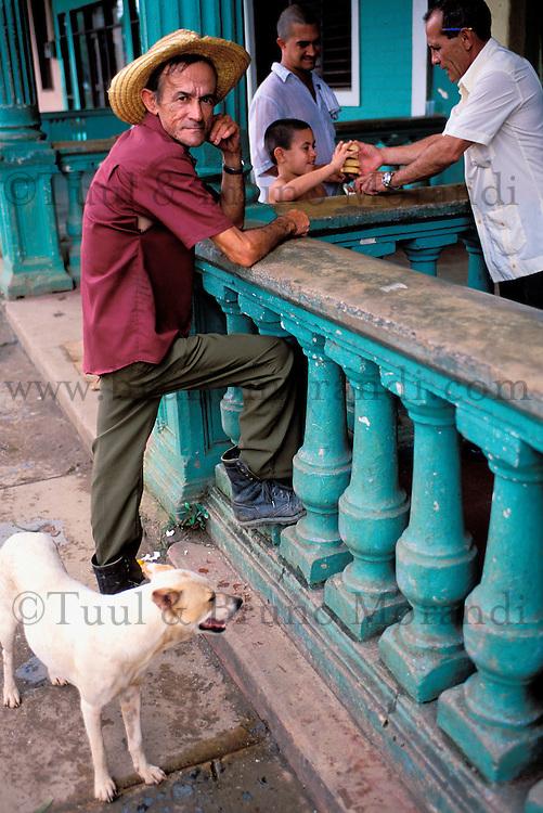 Cuba, Ouest de l'île, Vallée de Viñales, Ville de Viñales // Cuba, Region of Pinar del Rio, Valley of Viñales, City of Viñales