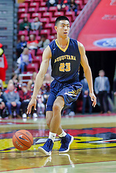 NORMAL, IL - November 03:  Lucas Simon during a college basketball game between the ISU Redbirds  and the Augustana Vikings on November 03 2018 at Redbird Arena in Normal, IL. (Photo by Alan Look)