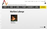 Marlène Laberge, Regroupement des artistes en arts visuels du Québec.