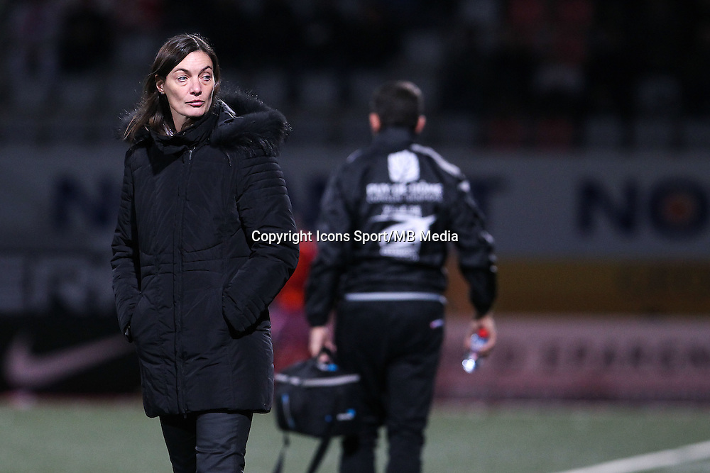 Corinne DIACRE - 19.12.2014 - Nancy / Clermont - 18e journee Ligue 2<br />Photo : Fred Marvaux / Icon Sport