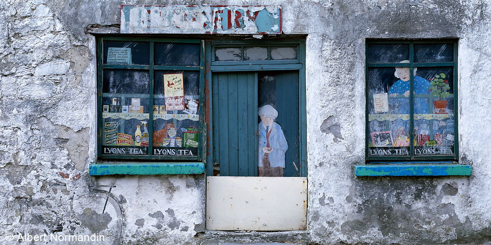 Galway Storefront with detailed windows